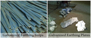 Galvanized - Earthing Strps & Plates