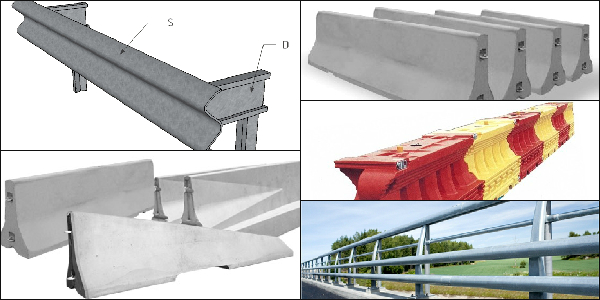 Galvanized Crash Barrier Types - Tanya Galvanizers